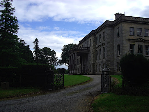 The main house - on the festival grounds of Hilton Park, Clones