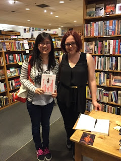 So nice to meet Victoria Schwab!