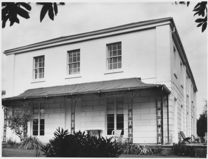 Mountford, Longford, Tasmania - built around 1833 by Lieut George Palmer Ball