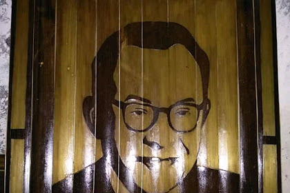 Ini Hasil Kesenian Lukisan Bambu, Karya Anak Pandeglang.