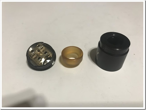 IMG 6178 thumb - 【コンパクトで可愛いやつ】Geekvape Athena Squonk Kit with BF RDA-Black(ギークベープアテナスコンクキット)レビュー!小型化されたメカニカルスコンカー!いつでも供給!漏れなしのトップエアフロー!