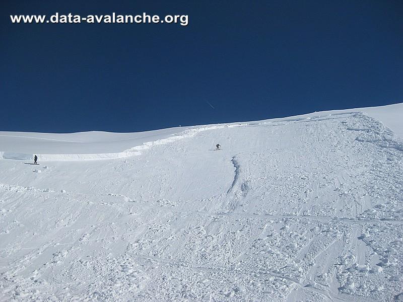 Avalanche Beaufortain, secteur Pointe de Combe Bénite - Photo 1
