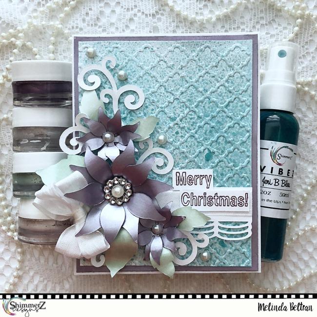 shimmerz poinsettia card-melinda2