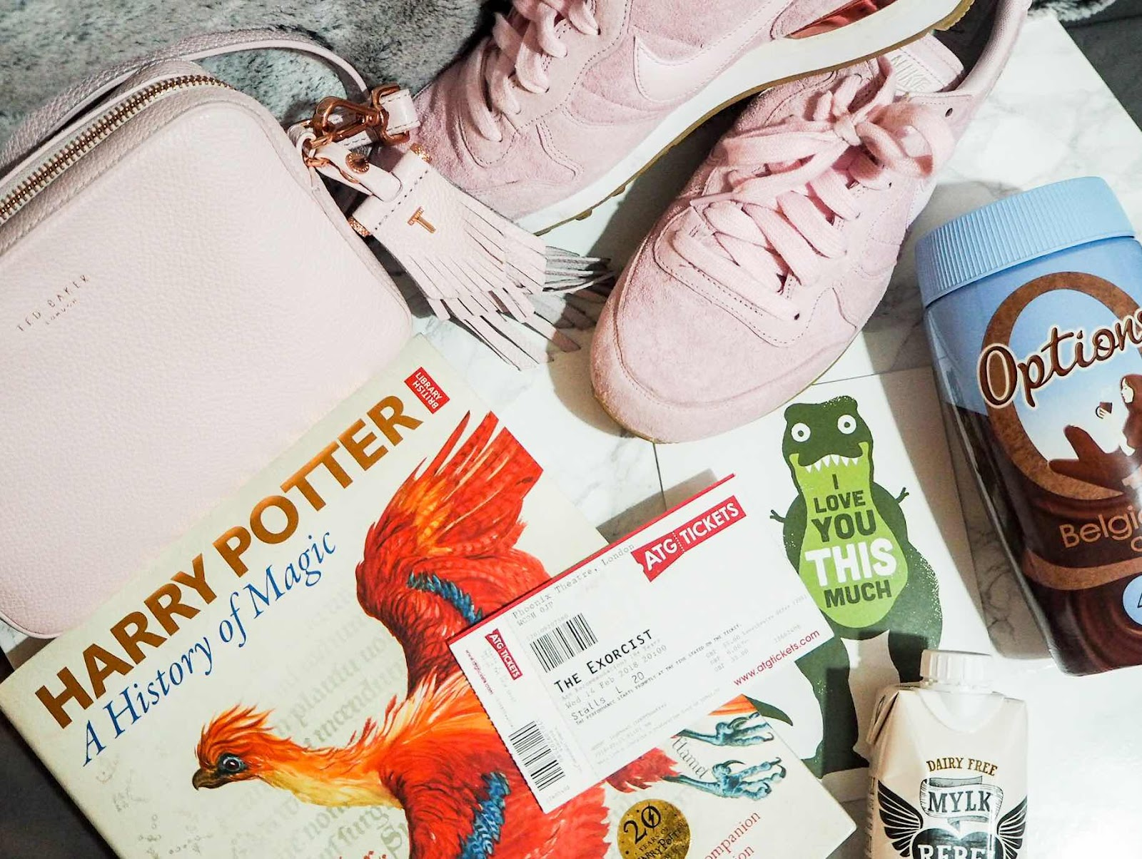 lifestyle-blog-favourites-ted-baker-handbag-nike-internationalists-harry-potter-a-history-of-magic-aqua-kyoto-best-sushi-in-london