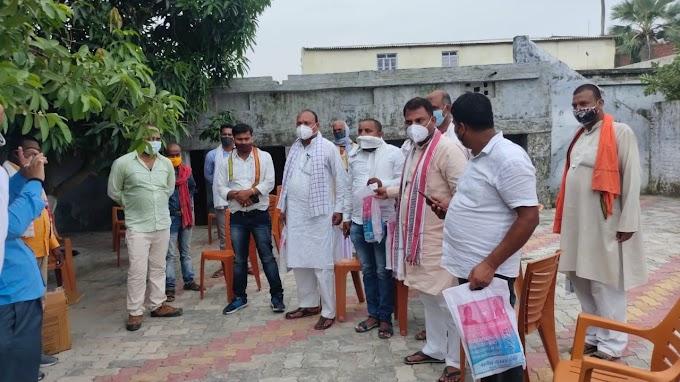 केंद्र में भाजपा सरकार के कार्यकाल के सात वर्ष पूरा होने पर मोहिउद्दीननगर विधायक ने सेवा सप्ताह मनाया।