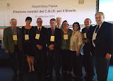 Em 26-09-2015 em Brasília, na Embaixada da Itália, de encontro com o Embaixador Raffaele Trombetta e membros do Comites-RS