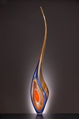 Lino Tagliapietra-Dinosaur-Blown Glass-2004