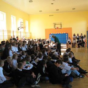 Rozpoczęcie roku szkolnego 2009/2010
