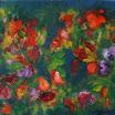 Botanisches, 2005. �l auf Leinwand, 45 x 50 cm. Euro 2.800,-