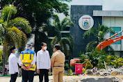 Presiden Jokowi Tiba di Mamuju Langsung Pantau Kondisi Kantor Gubernur Sulbar