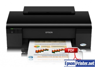 How to reset Epson C110 printer