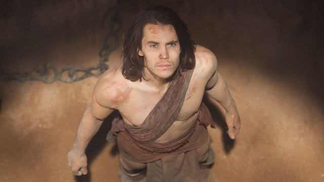 Taylor Kitsch Shirtless for John Carter