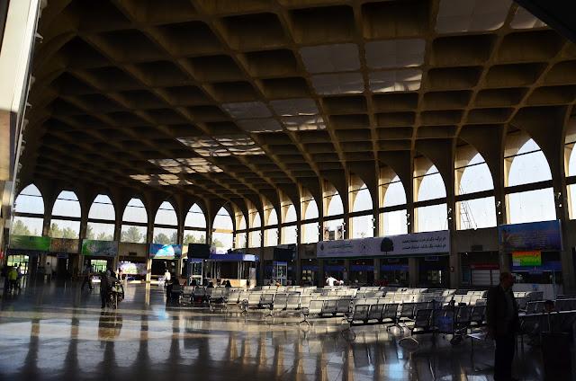 Dworzec kolejowy w Isfahanie