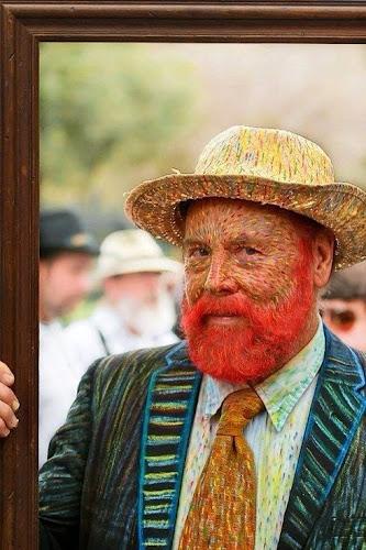 Disfraz de pintor famoso