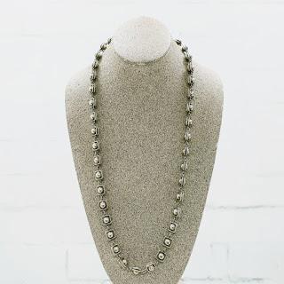 Sterling Silver Modernist Necklace