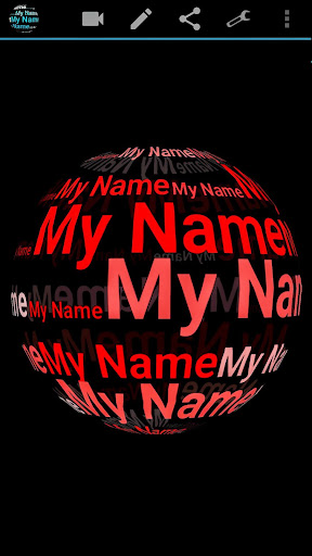 My Name in 3D Live Wallpaper 2.77 Apk for Android 3