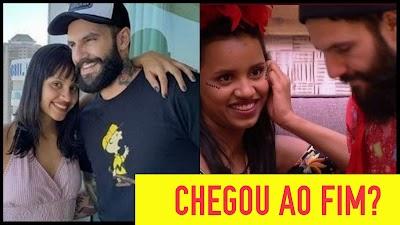 Ex-BBB Gleice Damasceno anuncia o fim de seu relacionamento com o também ex-BBB Wagner Santiago
