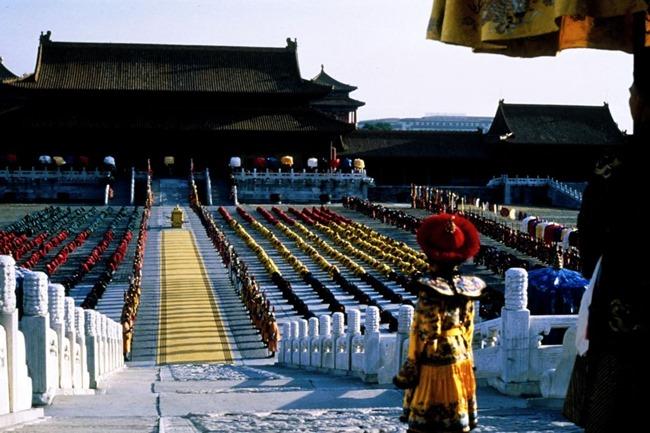 penggambaran filem di Forbidden City Beijing