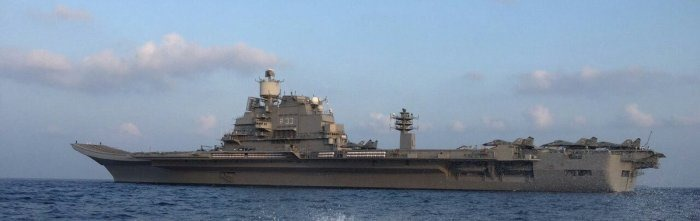 INS Vikramaditya - R33 - Aircraft Carrier - Indian Navy - 02 - TN