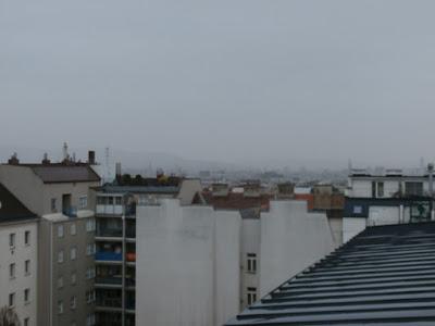 regnerisch war der Montagvormittag