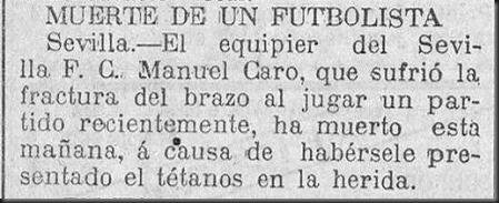19240522 CANTABRICO Muerte Manuel Caro