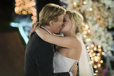 Josie Bissett and Jack Wagner in Sealed With a Kiss:  Wedding March 6