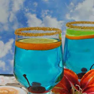 Blue Hawaiian Cocktail.