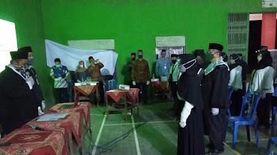 Bati Tuud Koramil 17/Srandakan Hadiri Pelantikan Dan Pengambilan Sumpah Pengawas PTPS Kecamatan Srandakan