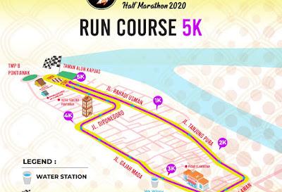 Pemerintah Pontianak Mendukung dan Mengajak Masyarakat Untuk Ikut Memeriahkan Acara Pontianak City Run Half Marathon 2020