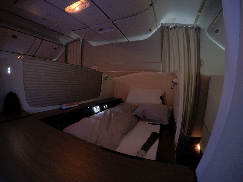 JL%252520F%252520HND LHR 118 - REVIEW - JAL : First Class - Tokyo Haneda to London (B77W)