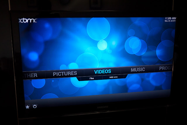 XBMC on Raspberry Pi