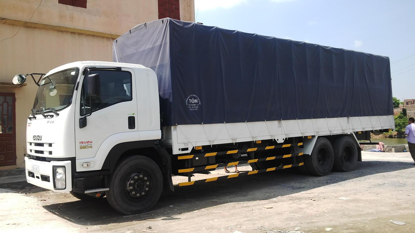 Dịch vụ cho thuê xe tải 15 tấn TPHCM