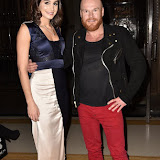 OIC - ENTSIMAGES.COM - Laura Wright and Phillip Christopher Baldwin at the  LFW a/w 2016: Fashion DNA Pakistan - catwalk showw  in London 20th February 2016 Photo Mobis Photos/OIC 0203 174 1069