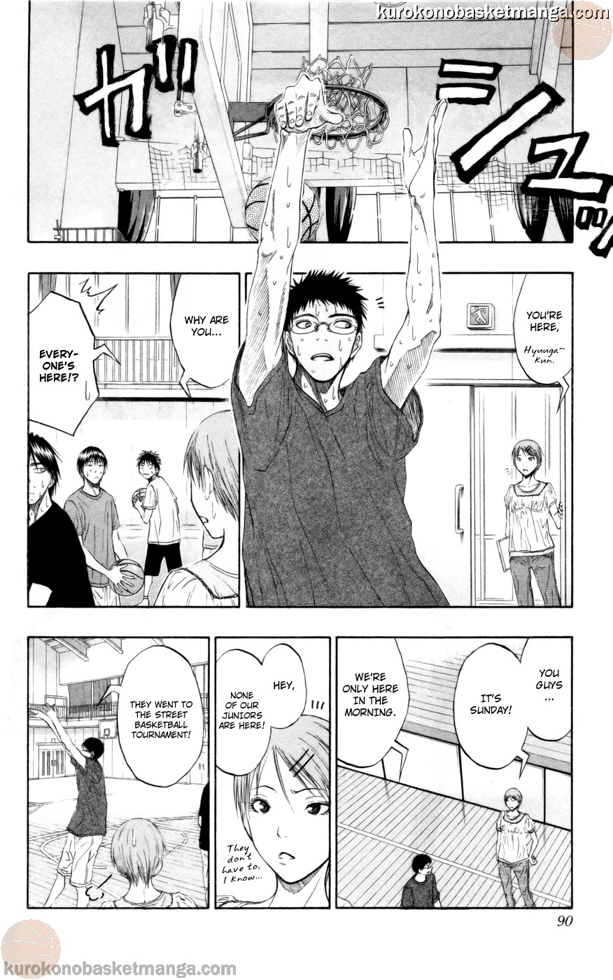 Kuroko no Basket Manga Chapter 75 - Image 04