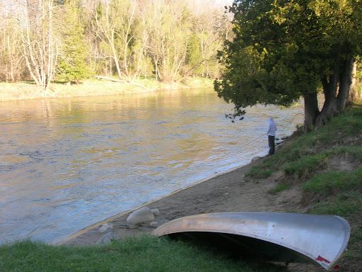 Reilly Fishing at McBeath
