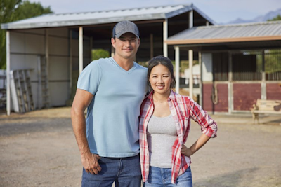 Christine Ko and Wes Brown in Sweet Pecan Summer