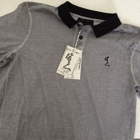religion polo shirt