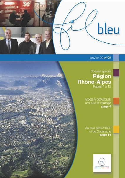 création magazine Fil Bleu Onet