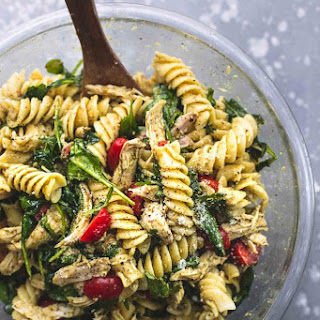 Pesto Chicken Pasta Salad Recipe