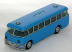 Oude bus met merk SMH [ Tekno ] van dit model zijn er ook verschillende met namen van banken uit Nederland en Duitsland.