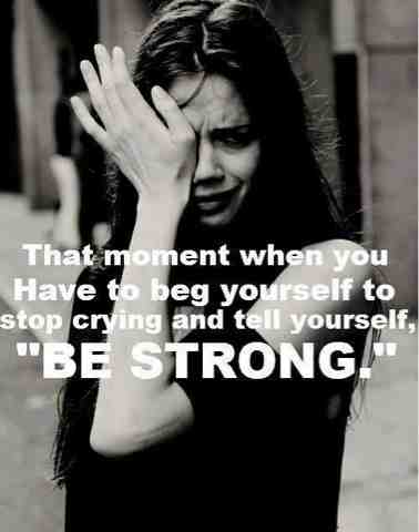 be-strong-infertility-hurts-cry
