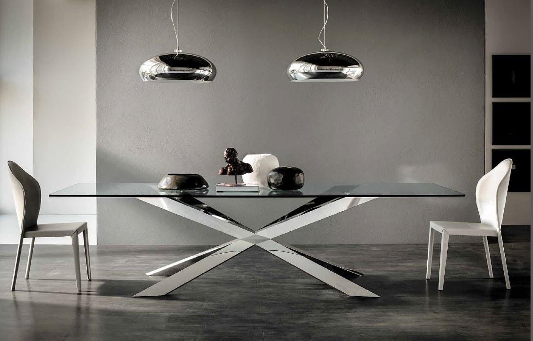 Cattelan tavolo Spider inox e cristallo.jpg