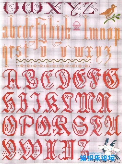 abecedarios varios punto cruz (1)