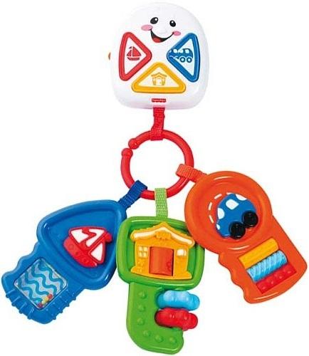 Bộ Chìa khóa kỳ diệu Fisher-Price Learning Keys là món đồ chơi thông minh