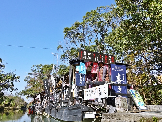 24日本九州自由行 日本威尼斯 柳川遊船  蒸籠鰻魚飯  みのう山荘-若竹屋酒造場