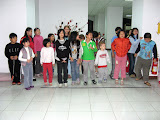 Some of the kids from Aunt Angie's English Club