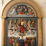 Le Pérugin - L'Ascension du Christ (1495-1498)