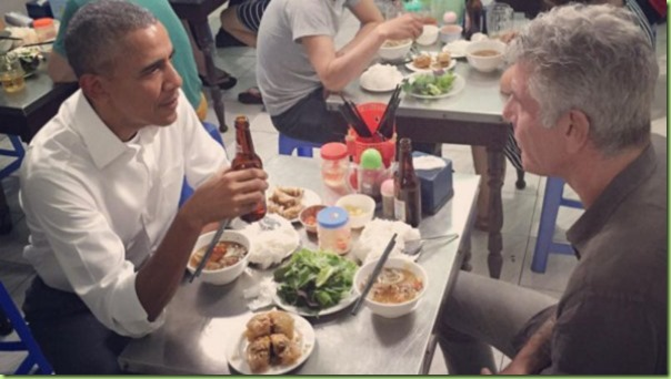 obama bourdain vietnam