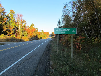 Hwy 118 - heading in the right direction Photo by Chris Varga