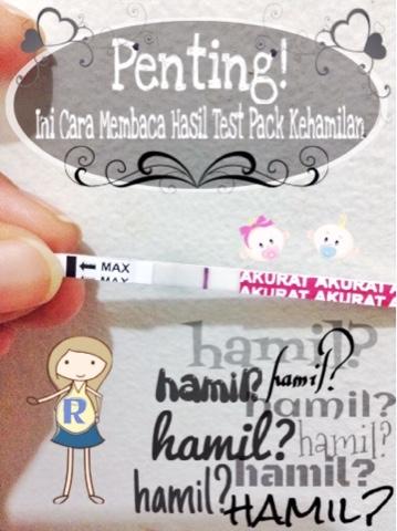 Cara Membaca Hasil Test Pack Kehamilan